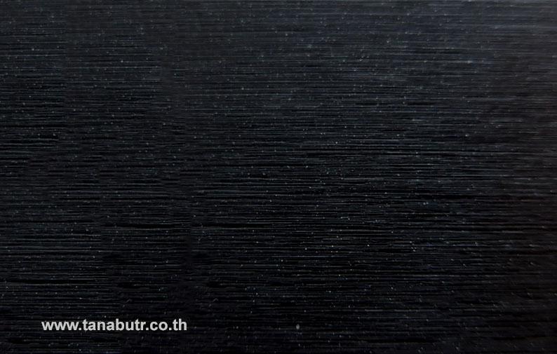 BR212 Brushed Metal Black Metallic