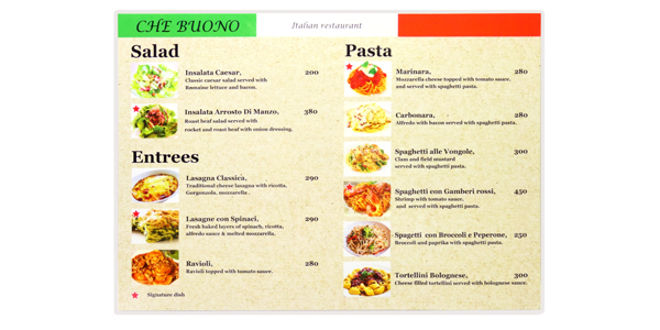 Pauch menu by Tanabutr