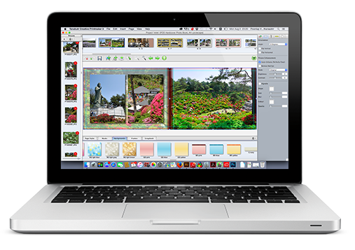 Download our free photobook software and install in your computer