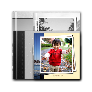 20x20 cm hard cover photo book
